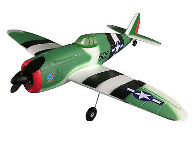 RC Flugzeug P-47 Thunderbolt Brushless 4 Kanal / SW 830mm / 380g
