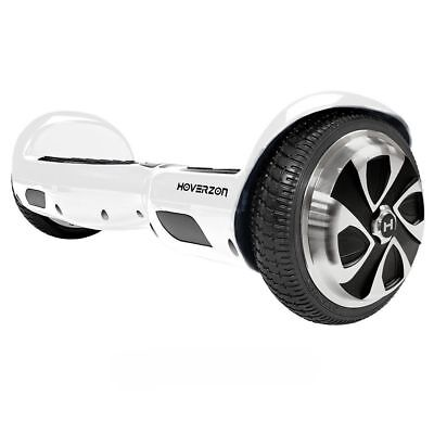 Swagtron Hoverzon S Self Balancing Electric Scoot, UL Cert. White Blemished Box