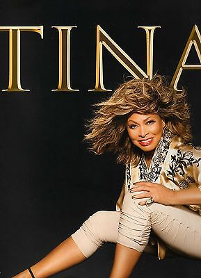 Tina Turner 50th Anniversary Europe Tour 2009 Programme inc' Tour Ticket - Rare