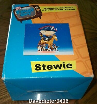 "Family Guy Stewie ""Suffer the Consequences"" Maniacal Miniature 980/4500 NIB"