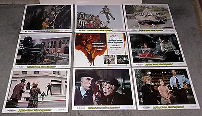 RETURN FROM WITCH MOUNTAIN orig 1978 lobby card set CHRISTOPHER LEE/BETTE DAVIS