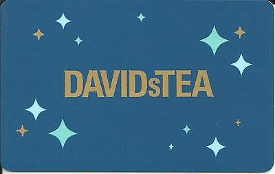 NEW DAVID s TEA CHRISTMAS MINT GIFT CARD FROM CANADA BILINGUAL NO VALUE 2016
