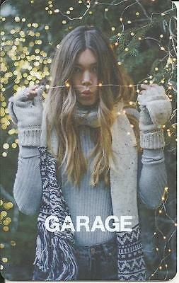 New Christmas Nice Girl Mint Gift Card From Le Garage Canada Bilingual No Value