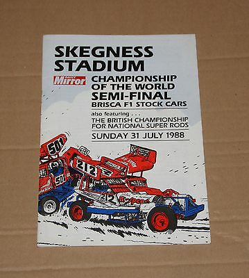 1988 Skegness Brisca F1 semi final &  Super Rod British Ch, 31 July