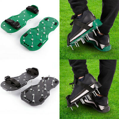 New Garden Lawn Aerator Aerating Sandals/Shoes 13 x 4.5cm Spikes UK Seller
