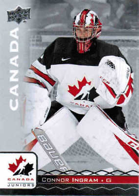 2017 UD TEAM CANADA HOCKEY JUNIORS/WOMEN BASE CARDS (#1-100) U-Pick From List