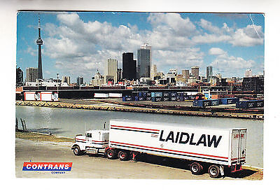 POSTCARD: LAIDLAW CARRIERS, ONTARIO  (haulage)