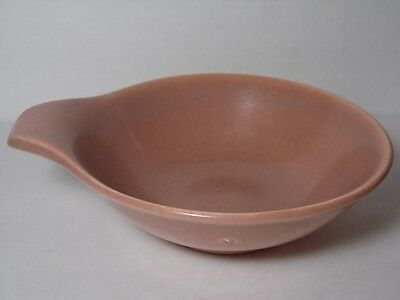VINTAGE 1939 RUSSEL WRIGHT American Century Modern STEUBENVILLE CORAL SOUP BOWL