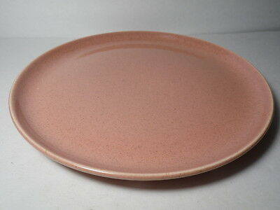 RW VINTAGE 1939 RUSSEL WRIGHT Mid Century Modern STEUBENVILLE CORAL DINNER PLATE