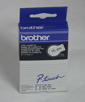 NEW! Brother TC201 Black on White