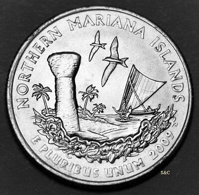 2009 P MINT Northern Mariana Islands DC & Territoral - Quarter Uncirculated Clad