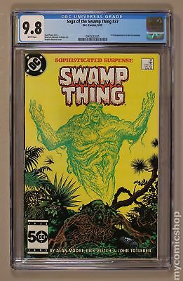 Swamp Thing (1982 2nd Series) #37 CGC 9.8 0962632005