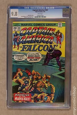 Captain America (1968 1st Series) #187 CGC 9.8 0706231020