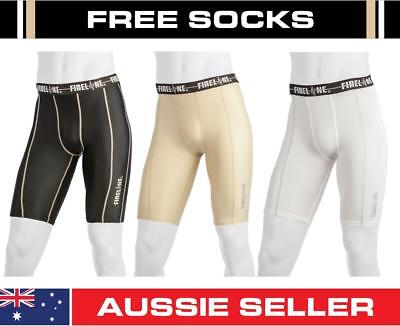 Compression Tights Football Running Shorts Mens Youth Skins Training Pants Socks