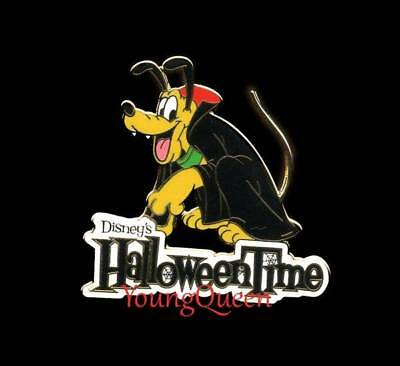 Disney Halloween Time Pluto Dracula Travel Agent Pin