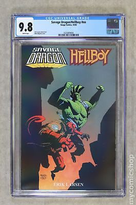 Savage Dragon/Hellboy TPB (2002 Image) #1-1ST CGC 9.8 0325809004