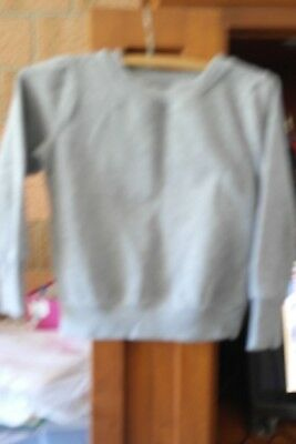1 X BOYS BOYS BEST AND LESS GREY TRACK TOP                                Size 7