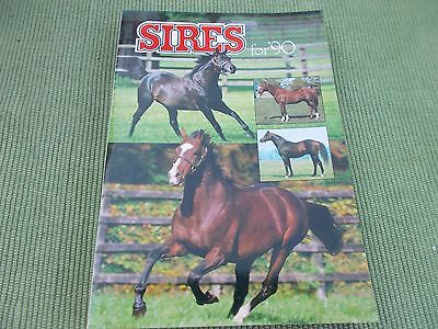Sires For 1990 - The Stallion Directory