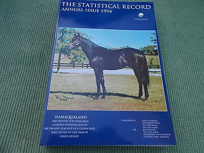 Statistical Record Annual Issue - 1994