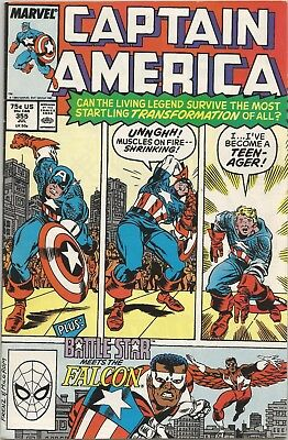 CAPTAIN AMERICA #355 Back Issue (S)