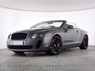 2011 Bentley Continental 6.0 GTC Supersports 2dr