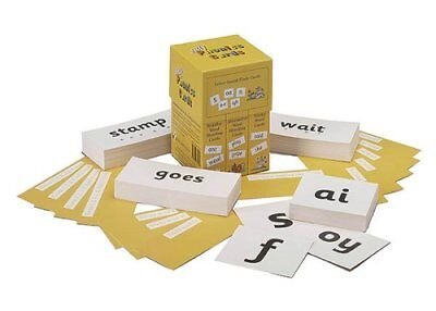 Jolly Phonics Cards (set of 4 boxes) in Precursive Letters 9781903619049