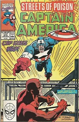 CAPTAIN AMERICA #375 Back Issue (S)