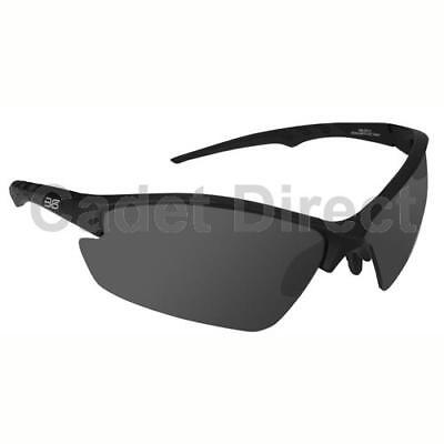 Bullseye-2 Tactical Ballistic Glasses, Black