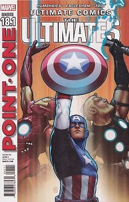 ULTIMATE COMICS The Ultimates #18.1 - Point One - New Bagged