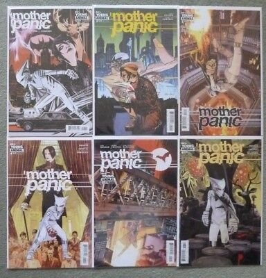 Mother Panic #1-6 Set..jody Houser/edwards..dc/young Animal 2017 1St Print..vfn+