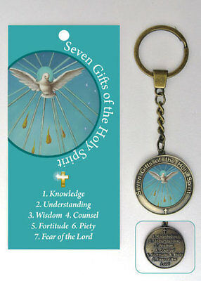 Seven Gifts Of The Holy Spirit Keyring - Other Religious Inspirational Listings