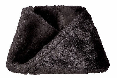 Girls Twisted Snood In Black Size 8-14 Years
