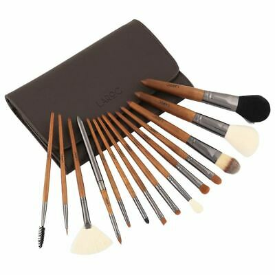 LaRoc 15pc Professional Makeup Artist Brush Set Kit Cosmetic Foundation Blush