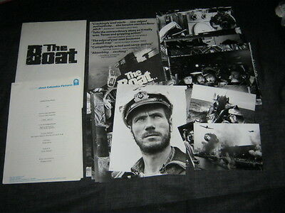 Original 1981 DAS BOOT THE BOAT English Presskit 39 German Supplied Photos