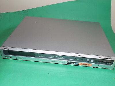 SONY RDR-HXD510 DVD Recorder with 80GB HDD Recording Silver Working order