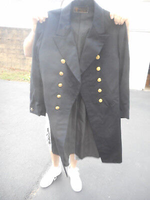 US Navy Cadet Jacket Dated 1927 Rare Size 38 named Ensign J.A.Corwin