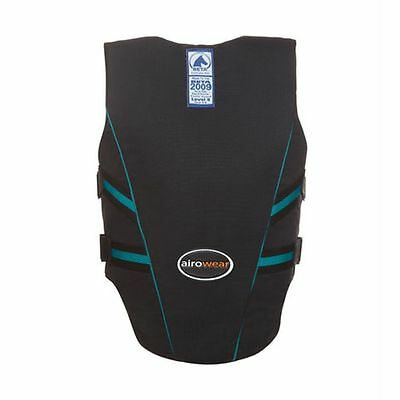 Airowear Sicherheitsweste Junior Outlyne black/turquoise Cross Country-Weste