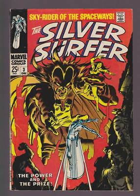 Silver Surfer # 3  The Power and the Prize !   grade 5.0 scarce book !