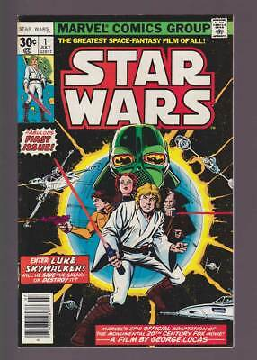 Star Wars # 1  First part of Movie Adaptation !  grade 8.0  scarce book !