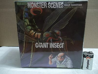 """NEW sealed 2008 MOEBIUS """" THE GIANT INSECT """" # 643 Monster Scenes Model Kit VG !"""