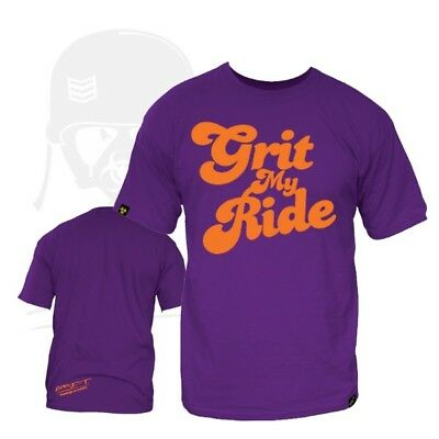 Grit Scooter T-Shirt. Choice Size & Design