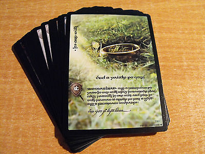 Lord of the Rings Tcg Return of the King Anthology 17 Karte Elvish Set