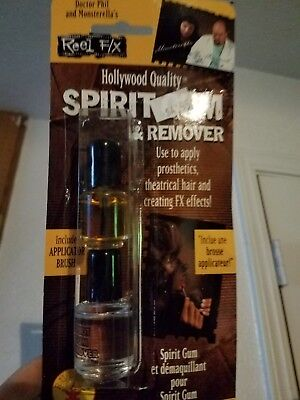 Spirit Gum Adhesive And Remover Set Special Effect Glue Adhesive