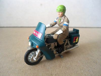 Britains no.9672 Norton Despatch Motorcycle & Rider .Vintage 1:32 Scale