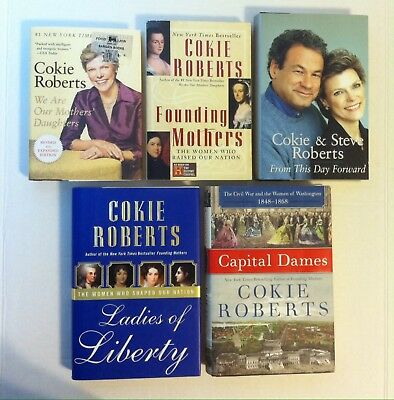 Cokie Roberts We Are Our Mothers Daughters Author Signed Autograph