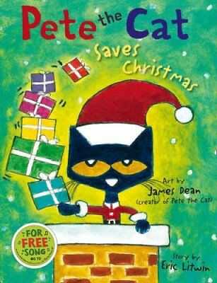 Pete the Cat Saves Christmas by Eric Litwin 9780007553693 (Paperback, 2014)