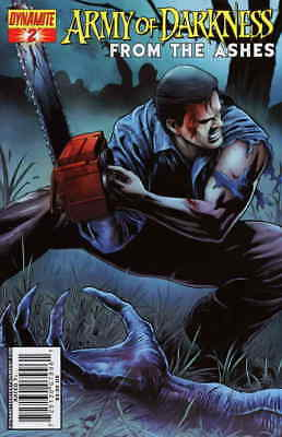Army of Darkness: From the Ashes #2B VF/NM; Dynamite | save on shipping - detail