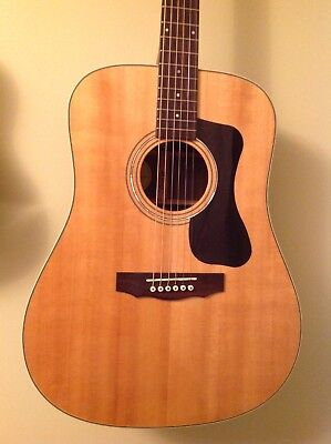 Guild D-150 Solid Rosewood Acoustic Guitar with Hardcase