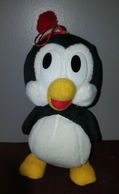 "Woody Woodpecker Chilly The Penquin 8"" Stuffed Plush Vintage Walter Lantz"