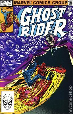 Ghost Rider (1973 1st Series) #74 VG LOW GRADE